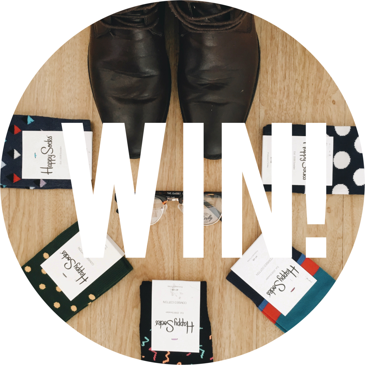 TO WIN: Happy Socks & eyewear for Dad!